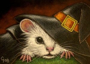 WHITE-RAT-MICE-MOUSE-HALLOWEEN-WITCH-COSTUME